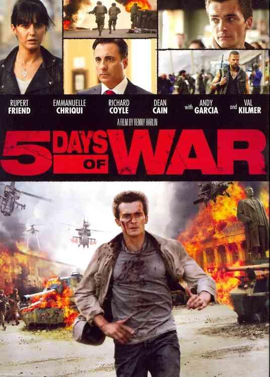 5 DAYS OF WAR BY FRIEND,RUPERT (DVD)